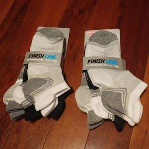Finish Line Performance Low Cut Socks